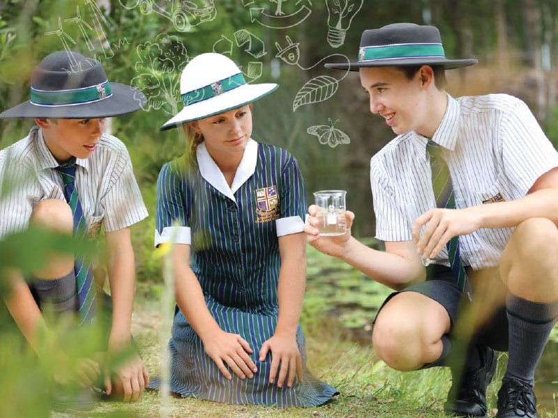 Secondary School Students at Sunshine Coast Grammar School