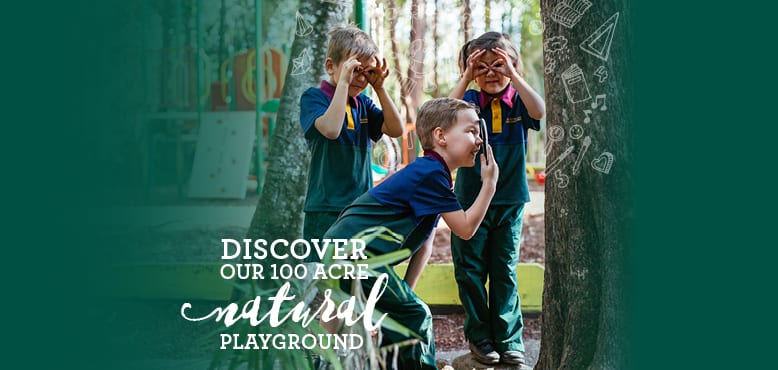 Discover 100 acre natural playground
