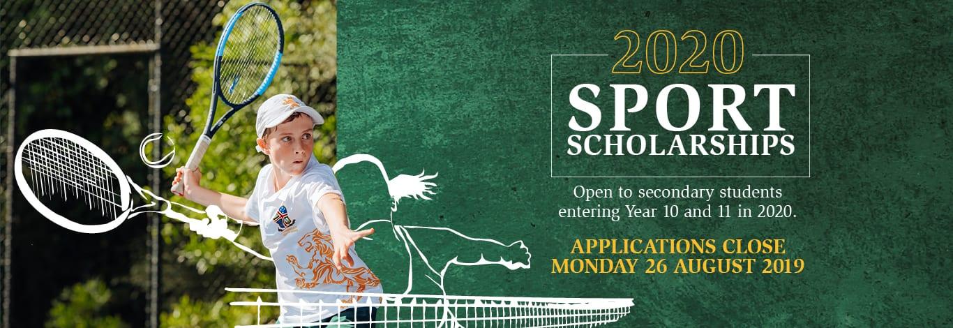 2020 Sport Scholarships web desktop