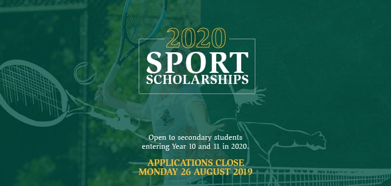 2020 Sport Scholarships web tablet and mobile