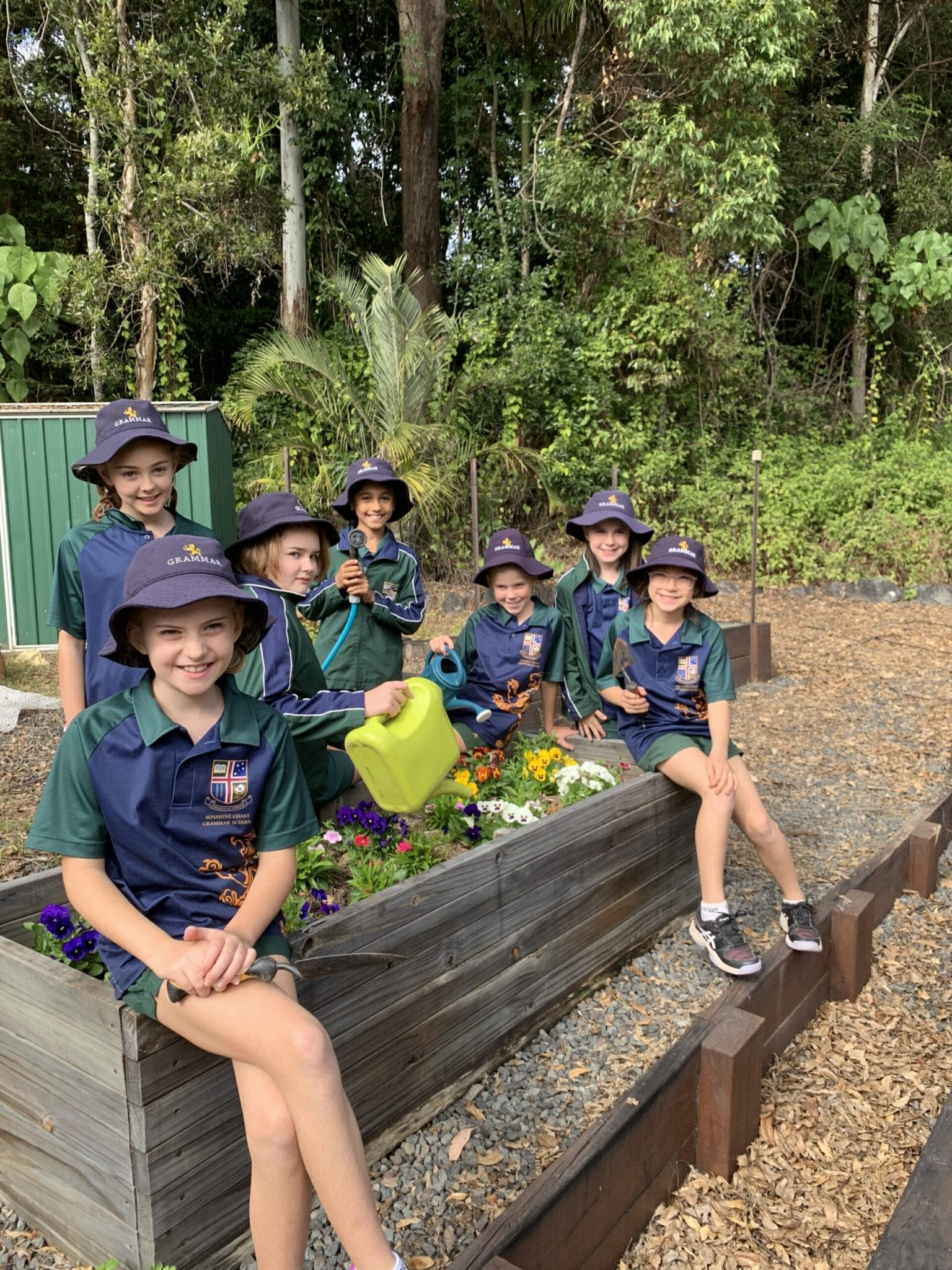 Green thumbs set to make a difference